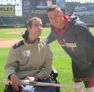 Jeff Konopasek, Jordan Schafer at U.S. Cellular Field
