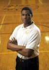 Seton coach Brandon Thomas