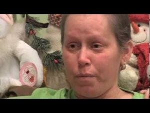 Lowell woman's story goes viral in breast cancer video