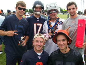 Bears fans pumped up at training camp in Bourbonnais