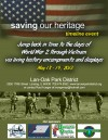 Saving Our Heritage Timeline Event to be held in May