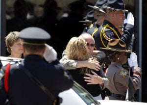 Hundreds mourn fallen Gary officer