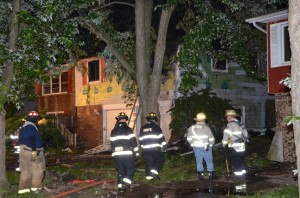 Fire guts house in Sauk Village
