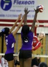 T.F. North/T.F. South volleyball
