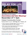 Relay for Life looking for volunteers for 2013 event