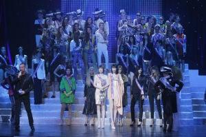 Stars attend Gaultier's final ready-to-wear show
