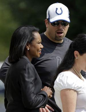 Ryan Grigson, Condoleezza Rice