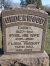 Daniel Underwood, 1827-1912