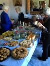 Valparaiso Woman's Club Dining Room Tea Sandwiches and Desserts