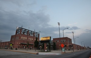 After decade, Gary stadium's shine fails to light up neighborhood