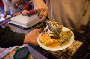 Salvation Army, volunteers serve turkey dinners