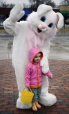 One on one with the Easter Bunny