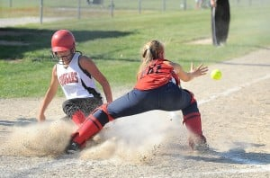 Kougars, Niners advance to title game at K.V. softball sectional