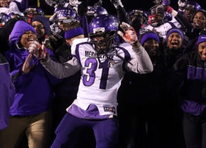 Winds blow Merrillville's way for title win