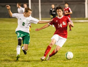 Vikings upset No. 2 Bulldogs in boys soccer
