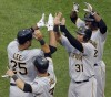 Pirates' Lee comes off DL, hits go-ahead slam to beat Cubs