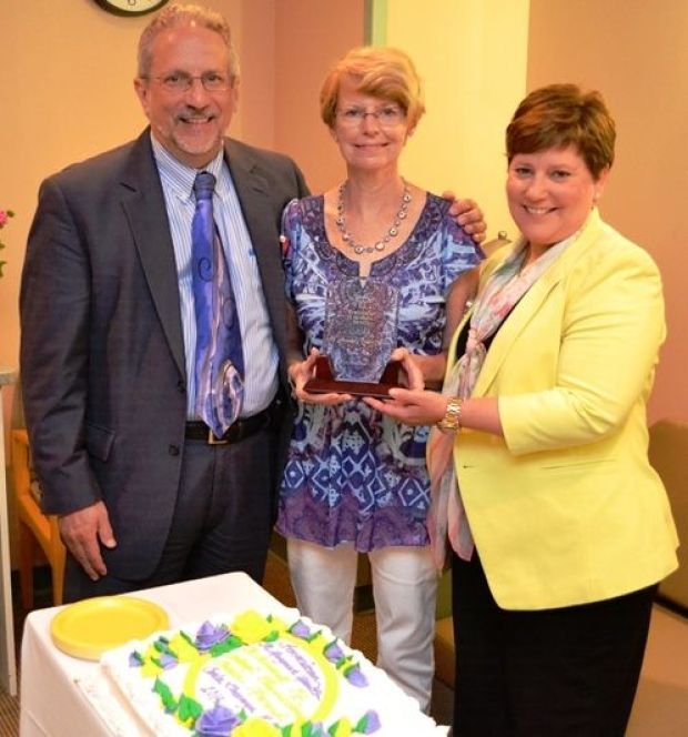 Nurses honored with Cortona awards by coworkers and physicians