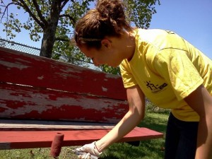 Volunteers spend Day of Caring at The Arc centers
