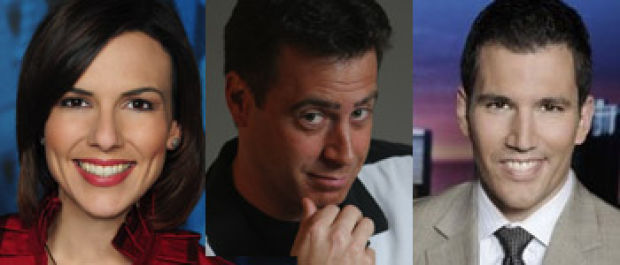 As Seen on TV: Morning news comical trio returns to center stage at Theatre at the Center