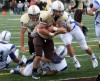 FBC_DRAKE_VU,  VU's Crusaders play Drake's Bulldogs in Pioneer Football League opener