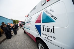 Triad ambulance unveiled