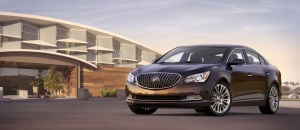 Where Comfort is King: The 2014 Buick LaCrosse sedan delivers amenable all-around performance and treats passengers to a truly quiet and comfortable interior