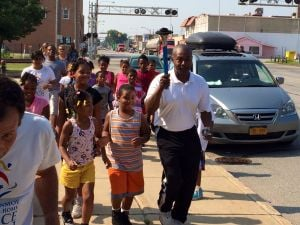 Peace Run torch relay stops in East Chicago