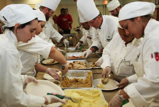 Ameristar, Salvation Army partner to serve Thanksgiving meals