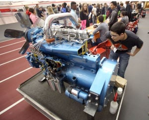 Portage high schoolers learn about manufacturing jobs