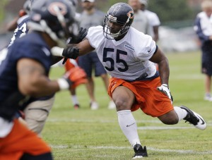 No Lovie, no Urlacher to steer 2013 Bears defense