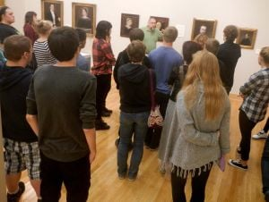 CHS students benefit from fine art at Brauer Museum of Art