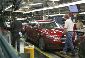 Ford celebrates assembly line