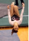 Portage's Danielle Solis on beam