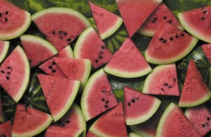 Watermelon stars in recipes from appetizers to desserts
