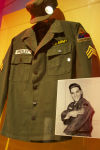 Elvis' Army uniform
