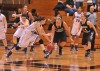 Purdue Calumet's Kami Grader swipes the ball from Olivet Nazarene's Danielle Tolbert on Wednesday night.