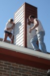 Student Painters do residential painting.