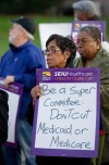 Threat to Medicare, Medicaid sparks rally
