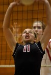 Lowell at Munster girls volleyball