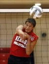 Hebron boys volleyballl player Pauer is a true student of the game