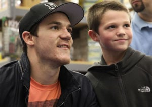 Gallery: Blackhawks' Andrew Shaw stops in Region