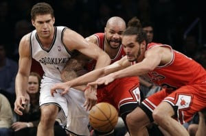 Nets' win trims Bulls' series lead