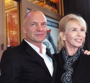 Sting walks 'Ship's' red carpet