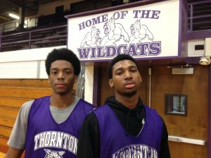 Taylor, Pierce lead Thornton