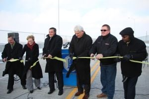Ribbon cutting ceremony celebrates Nine Span Bridge opening