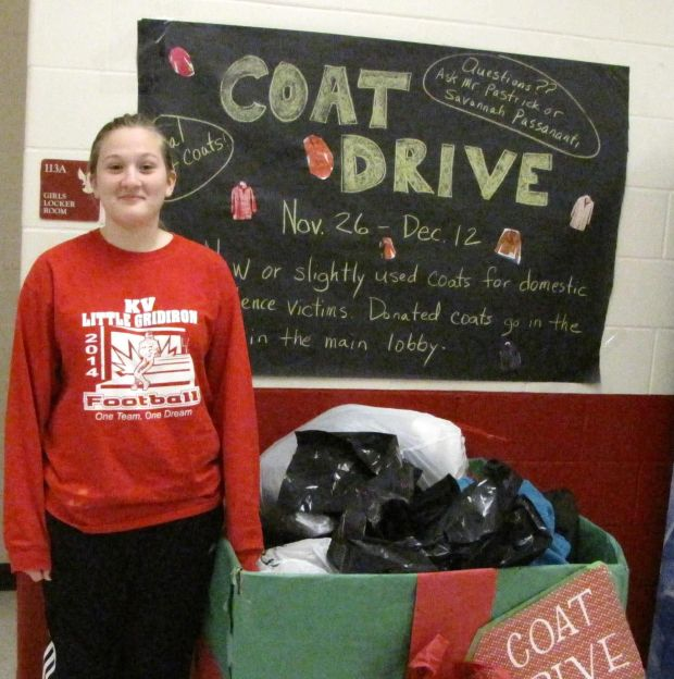 Coat drive held for domestic violence victimns