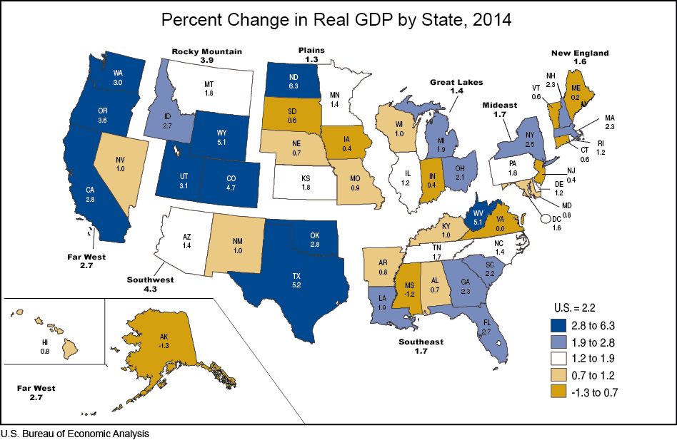 Indiana 39 s economy among weakest in nation government and - Bureau of economic analysis us department of commerce ...