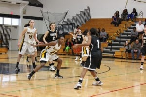 Marian Catholic girls basketball team cruises past Fenwick