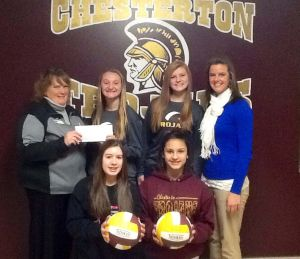 Team donates to American Cancer Society