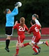 Downers Grove South goalkeeper Cassidy Herrmann